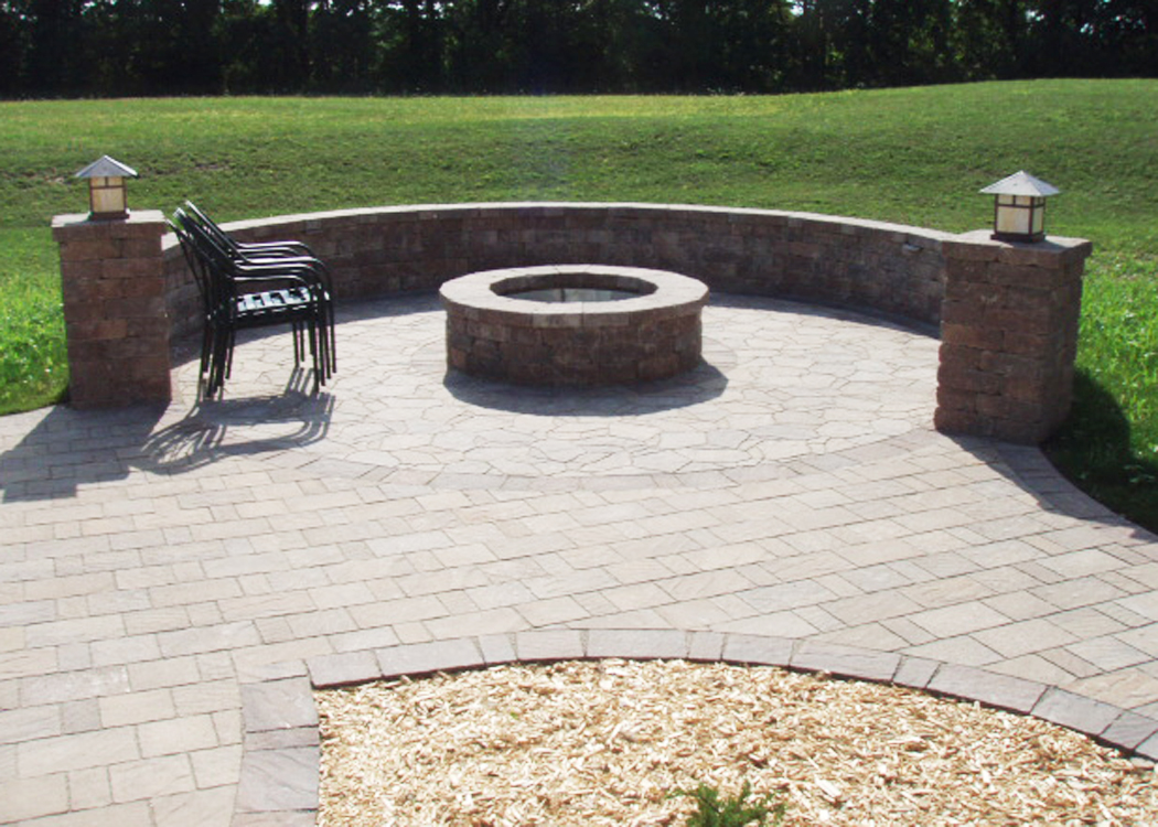 installation paver designs curved patio